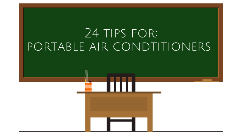 24 tips for portable air conditioners