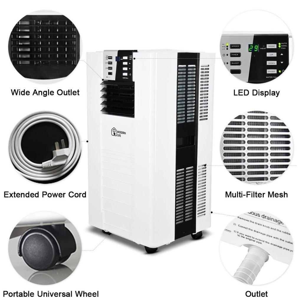 moretti elite portable air conditioner manual
